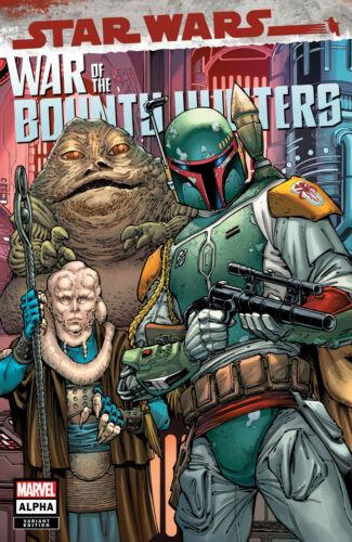 STAR WARS: WAR OF THE BOUNTY HUNTERS ALPHA #1 (TODD NAUCK TRADE VARIANT)