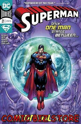 SUPERMAN #21 (2020) 1ST PRINTING REIS & PRADO MAIN COVER DC COMICS