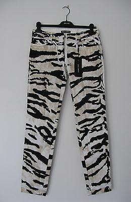 Dolce & Gabbana Animal Print (Zebra) Jeans