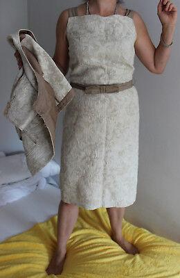 Schickes Kostüm aus Kleid und Jacke derr Marke Solar Gr. M