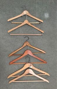 21 Wooden Clothes Hangers