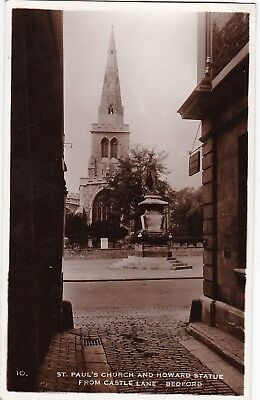 St. Paul's Church & Howard Statue Fromm Castle Lane, BEDFORD, Bedfordshire RP