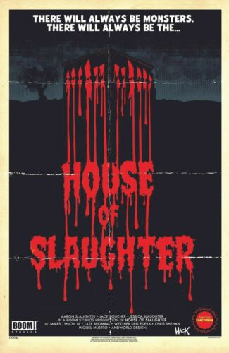 HOUSE OF SLAUGHTER #1 Robert Hack Limited Variant Preorder NM