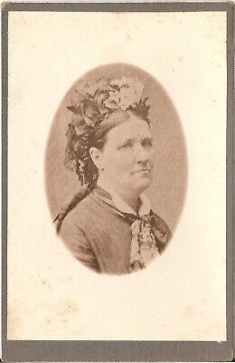 CAB Foto Feine Dame - Frankreich um 1900