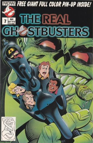 The Real Ghostbusters 7  NM