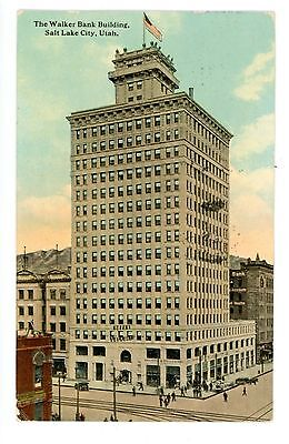Salt Lake City Utah Ut   Walker Bank Building   Postcard