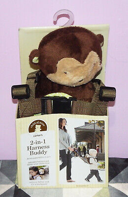 New Child of Mine Carter's 2-in-1 Harness Buddy Monkey 18 (Child Of Mine 2 In 1 Harness Buddy)