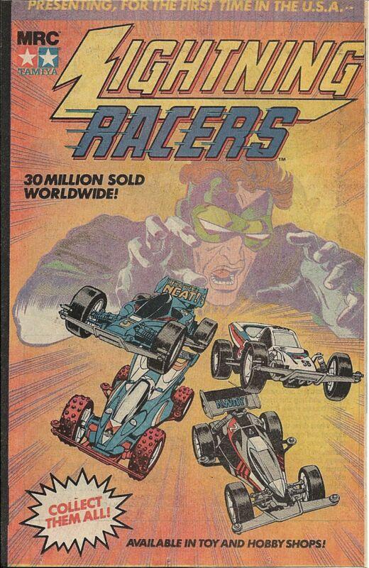 SUPER RARE DC LIGHTNING RACERS GIVEAWAY PROMO COMIC 1990 PROMOTIONAL NM
