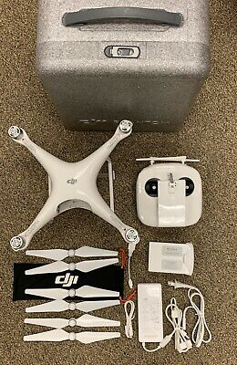 DJI Phantom 4 Quadcopter Drone with Original Foam Carrying Case