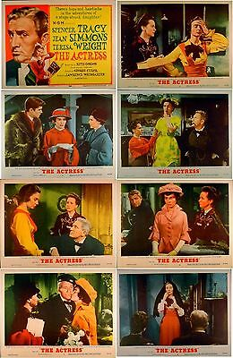ACTRESS 1953 Jean Simmons, Spencer Tracy, Teresa Wright US 11x14 LOBBY SET