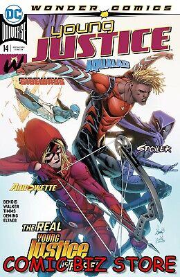 YOUNG JUSTICE #14 (2020) 1ST PRINTING JOHN TIMMS MAIN COVER DC COMICS