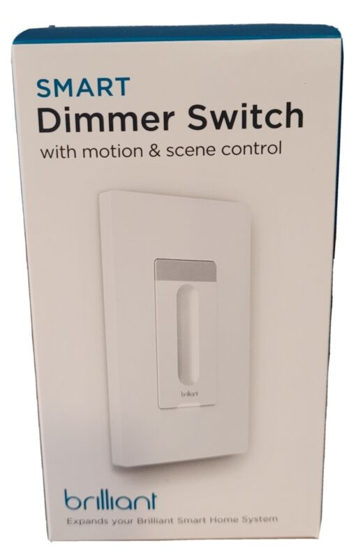Brilliant Smart lighting Dimmer Switch BHS120US-WH1