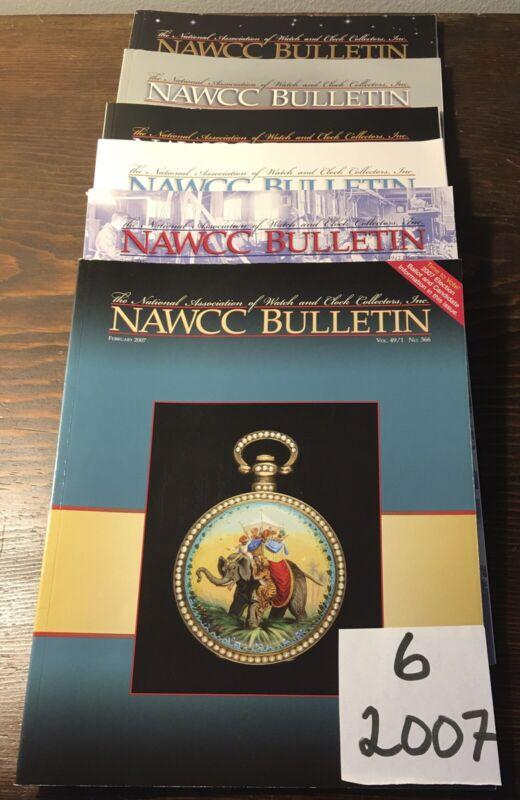 6-2007 NAWCC Bulletin, National Association Watch Clock Coll.