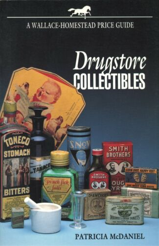 Drug Store Pharmaceutical Collecting Advertising Tins Bottles / Book + Values