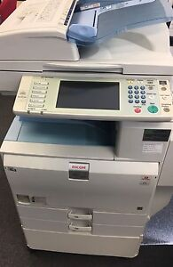 Office printer Ricoh afficio 4000 multi function device scanner MFD South Yarra Stonnington Area Preview
