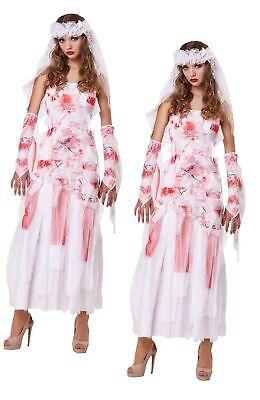 Grave Novia Traje Mujer Zombie Muerto Mujer Halloween Disfraz