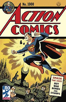 ACTION COMICS #1000 1940'S CHO VARIANT DC COMICS SUPERMAN MILESTONE