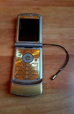 Originale Motorola Razr V3i di D&g Dolce & Gabbana (Difettoso), usado comprar usado  Enviando para Brazil