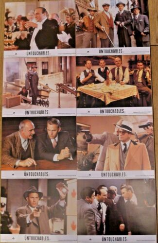 The Untouchables. Sean Connery. Kevin Costner. U K Lobby Cards