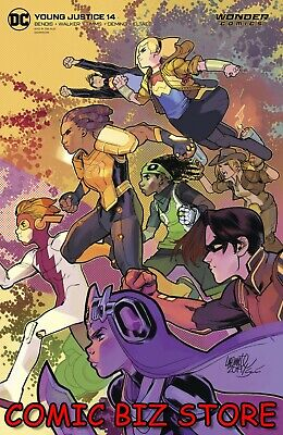 YOUNG JUSTICE #14 (2020) 1ST PRINTING DAVID LAFUENTE VARIANT COVER