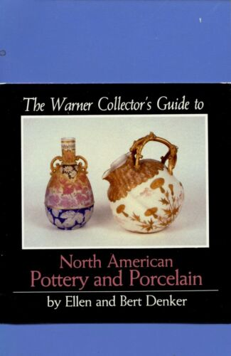 Antique American Pottery Stoneware China - Makers Types Dates / Scarce Book