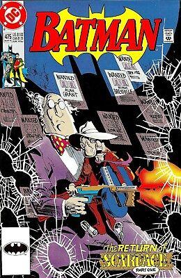 BATMAN #475 Comics 1st Appearance Detective Renee Montoya Birds Of Prey Movie