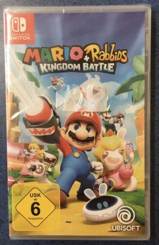 Mario & Rabbids Kingdom Battle (Nintendo Switch) Neu OVP Game Spiel Neu