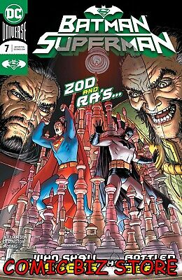 BATMAN SUPERMAN #7 (2020) 1ST PRINTING NICK DERINGTON MAIN COVER DC COMICS