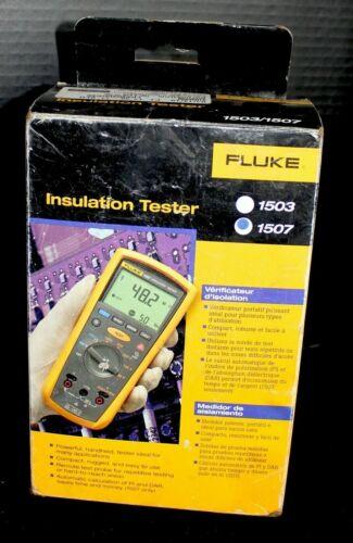 Fluke 1507 digital insulation tester  megger
