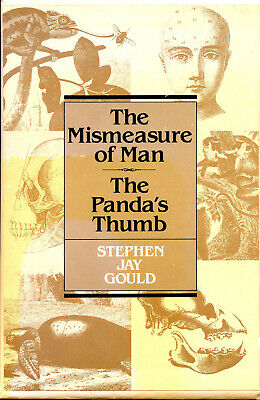 The Mismeasure of Man and The Panda's Thumb by Stephen Jay Gould boxed