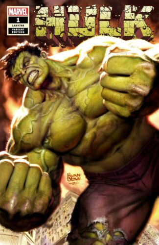 Hulk #1 NM Ryan Brown eBay Exclusive Variant New York Comicon Presell ShipsNov 3