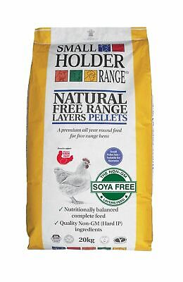 Allen & Page Small Holder Range Natural Free Range Layers Pellets 20kg