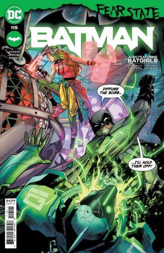 Batman #115 cover A Tynion unread nm 9.4 +