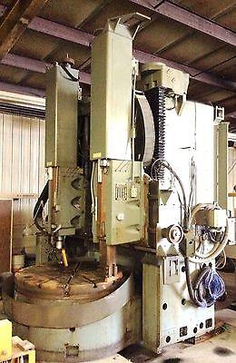 Bullard 66 Vtl Vertical Boring Mill P-17528-8 B93-40 1 Hp 230460v 31.5 A