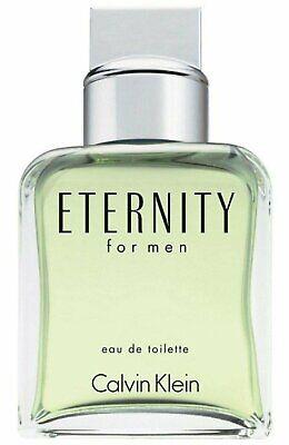 Calvin Klein Men's Eternity Eau De Toilette Spray Tester, 3.