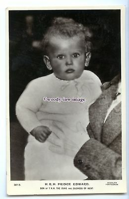 r2997 - Prince Edward as a Toddler, son of the Duke & Duchess of Kent - postcard