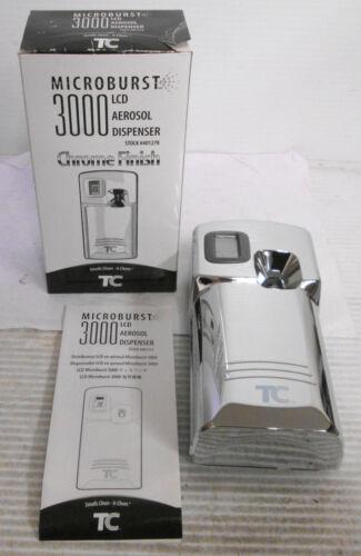 TC Microburst 3000 LCD Aerosol Dispenser Chrome Finish