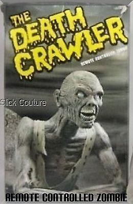 DEATH CRAWLER ZOMBIE ANIMATRONIC Halloween Prop LIFE-SIZE Remote Controll - Life Size Creeper