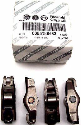 Alfa Romeo Fiat Nuovo Originale Camme Roller Rullo Rocker Braccio X 4 55186463