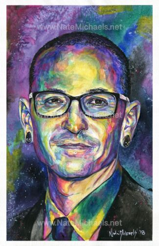 Chester Bennington / Linkin Park  - Fine art print / poster