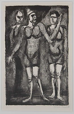 Listed French Artist GEORGES ROUAULT, Signed Numbered Original Etching Rare