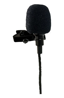 Directional Microphone (Lavalier Clip-on Omni-Directional Condenser Microphone for Computer, Color)