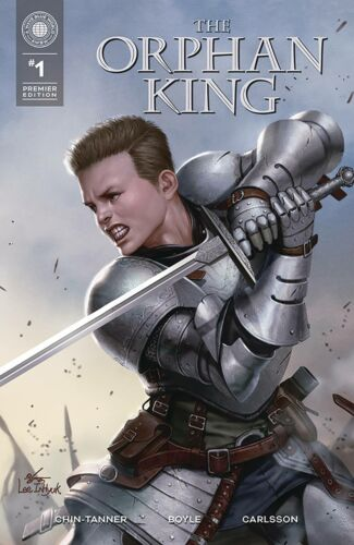 The Orphan King #1, Premier Edition, In-Hyuk Lee, NM, (2021) A Wave Blue World