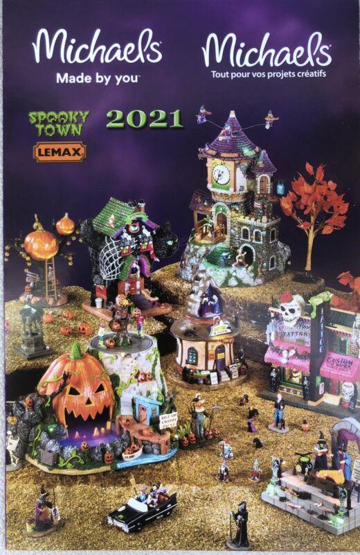 2021 Lemax Spooky Town Catalog Brochure Michael