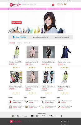 Women Clothing Store   Aliexpress Affiliate Website   Free Hosting