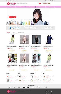 Women Clothing Store   Aliexpress Affiliate Website   Free Hosting