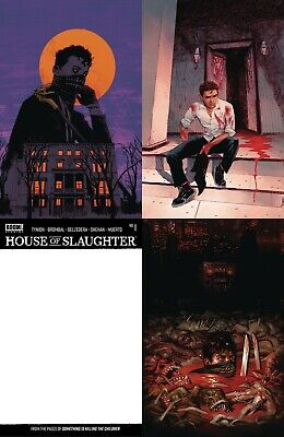 HOUSE OF SLAUGHTER #1 1:50, 25 VARIANT SET TYNION DELL EDERA BUENO siktc COMIC