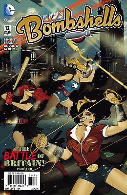 DC Comics Bombshells #12 First Print New/Unread
