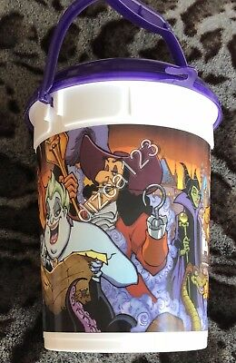 Disney Popcorn Disneyland 2017 Halloween Villains AP Refillable Popcorn Bucket](Disneyland Halloween Villains)