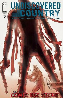 UNDISCOVERED COUNTRY #5 (2020) 1ST PRINTING CAMUNCOLI MAIN COVER A IMAGE COMICS